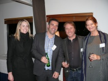 Cathy O'Sullivan, Fairfax Media; Mark Ellis and Declan Scott and Jennifer Albaugh from SHE Universe.