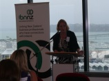 Irish Business Network NZ chair Grainne Moss.